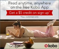 Save $5 on your first Kobo book purchase!